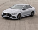 2021 Mercedes-AMG E 63 S (Color: Hightech Silver Metallic) Front Three-Quarter Wallpapers 150x120 (13)