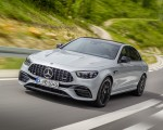 2021 Mercedes-AMG E 63 S (Color: Hightech Silver Metallic) Front Three-Quarter Wallpapers 150x120 (1)