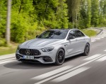 2021 Mercedes-AMG E 63 S (Color: Hightech Silver Metallic) Front Three-Quarter Wallpapers 150x120 (2)