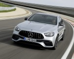 2021 Mercedes-AMG E 63 S (Color: Hightech Silver Metallic) Front Wallpapers 150x120 (3)