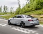 2021 Mercedes-AMG E 63 S (Color: Hightech Silver Metallic) Rear Three-Quarter Wallpapers 150x120 (4)