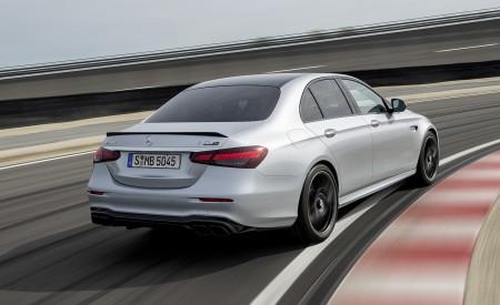 2021 Mercedes-AMG E 63 S (Color: Hightech Silver Metallic) Rear Three-Quarter Wallpapers 450x275 (78)