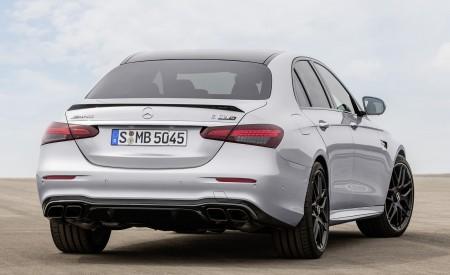 2021 Mercedes-AMG E 63 S (Color: Hightech Silver Metallic) Rear Wallpapers 450x275 (89)
