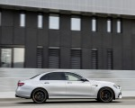 2021 Mercedes-AMG E 63 S (Color: Hightech Silver Metallic) Side Wallpapers 150x120 (6)