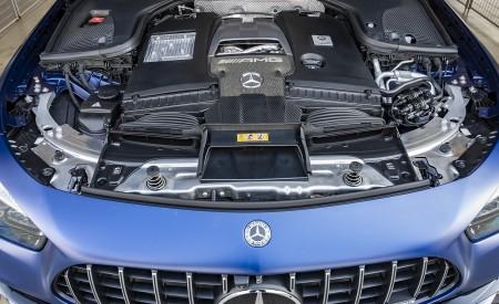 2021 Mercedes-AMG E 63 S Estate 4MATIC+ (Color: Designo Magno Brilliant Blue) Engine Wallpapers 450x275 (51)