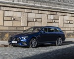 2021 Mercedes-AMG E 63 S Estate 4MATIC+ (Color: Designo Magno Brilliant Blue) Front Three-Quarter Wallpapers 150x120 (23)