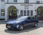 2021 Mercedes-AMG E 63 S Estate 4MATIC+ (Color: Designo Magno Brilliant Blue) Front Three-Quarter Wallpapers 150x120 (41)