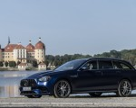 2021 Mercedes-AMG E 63 S Estate 4MATIC+ (Color: Designo Magno Brilliant Blue) Front Three-Quarter Wallpapers 150x120 (25)