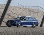 2021 Mercedes-AMG E 63 S Estate 4MATIC+ (Color: Designo Magno Brilliant Blue) Front Three-Quarter Wallpapers 150x120 (14)