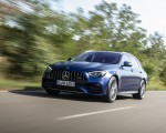 2021 Mercedes-AMG E 63 S Estate 4MATIC+ (Color: Designo Magno Brilliant Blue) Front Three-Quarter Wallpapers 150x120 (4)