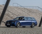 2021 Mercedes-AMG E 63 S Estate 4MATIC+ (Color: Designo Magno Brilliant Blue) Front Three-Quarter Wallpapers 150x120 (15)