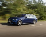 2021 Mercedes-AMG E 63 S Estate 4MATIC+ (Color: Designo Magno Brilliant Blue) Front Three-Quarter Wallpapers 150x120 (6)