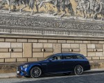 2021 Mercedes-AMG E 63 S Estate 4MATIC+ (Color: Designo Magno Brilliant Blue) Front Three-Quarter Wallpapers 150x120 (26)