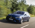 2021 Mercedes-AMG E 63 S Estate 4MATIC+ (Color: Designo Magno Brilliant Blue) Front Three-Quarter Wallpapers 150x120 (8)