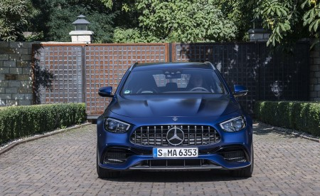 2021 Mercedes-AMG E 63 S Estate 4MATIC+ (Color: Designo Magno Brilliant Blue) Front Wallpapers 450x275 (35)