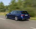 2021 Mercedes-AMG E 63 S Estate 4MATIC+ (Color: Designo Magno Brilliant Blue) Rear Three-Quarter Wallpapers 150x120 (10)