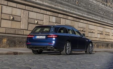 2021 Mercedes-AMG E 63 S Estate 4MATIC+ (Color: Designo Magno Brilliant Blue) Rear Three-Quarter Wallpapers 450x275 (36)