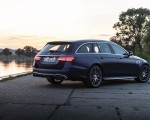 2021 Mercedes-AMG E 63 S Estate 4MATIC+ (Color: Designo Magno Brilliant Blue) Rear Three-Quarter Wallpapers 150x120 (27)