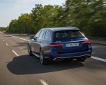 2021 Mercedes-AMG E 63 S Estate 4MATIC+ (Color: Designo Magno Brilliant Blue) Rear Three-Quarter Wallpapers 150x120 (11)