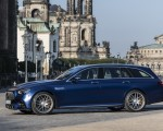 2021 Mercedes-AMG E 63 S Estate 4MATIC+ (Color: Designo Magno Brilliant Blue) Side Wallpapers 150x120 (37)