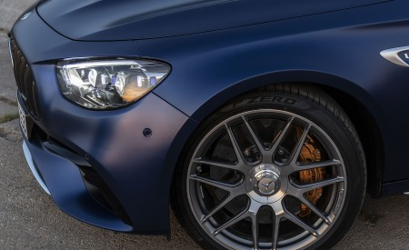 2021 Mercedes-AMG E 63 S Estate 4MATIC+ (Color: Designo Magno Brilliant Blue) Wheel Wallpapers 450x275 (45)