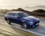 2021 Mercedes-AMG E 63 S Estate (Color: Brilliant Blue Magno) Front Three-Quarter Wallpapers 150x120 (9)