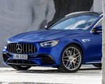2021 Mercedes-AMG E 63 S Estate (Color: Brilliant Blue Magno) Front Wallpapers 150x120 (22)