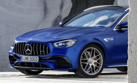 2021 Mercedes-AMG E 63 S Estate (Color: Brilliant Blue Magno) Front Wallpapers 450x275 (88)