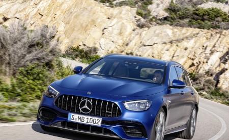 2021 Mercedes-AMG E 63 S Estate (Color: Brilliant Blue Magno) Front Wallpapers 450x275 (68)