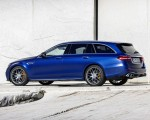 2021 Mercedes-AMG E 63 S Estate (Color: Brilliant Blue Magno) Rear Three-Quarter Wallpapers 150x120 (17)