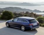 2021 Mercedes-AMG E 63 S Estate (Color: Brilliant Blue Magno) Rear Three-Quarter Wallpapers 150x120 (11)