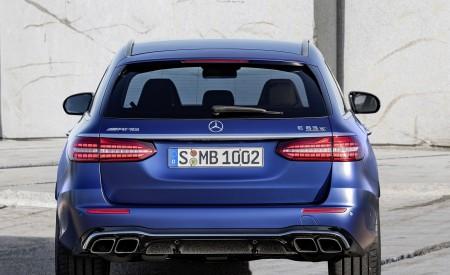 2021 Mercedes-AMG E 63 S Estate (Color: Brilliant Blue Magno) Rear Wallpapers 450x275 (84)