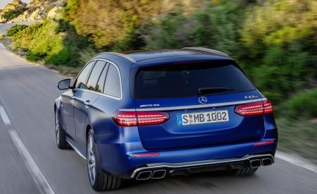 2021 Mercedes-AMG E 63 S Estate (Color: Brilliant Blue Magno) Rear Wallpapers 450x275 (72)