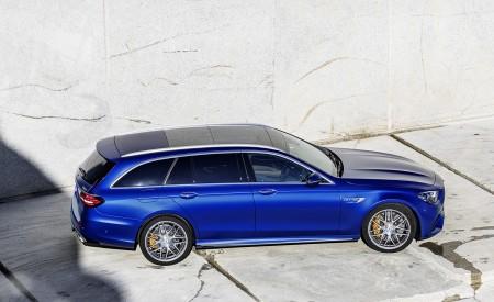2021 Mercedes-AMG E 63 S Estate (Color: Brilliant Blue Magno) Side Wallpapers 450x275 (85)