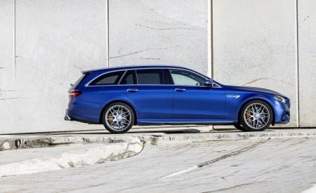 2021 Mercedes-AMG E 63 S Estate (Color: Brilliant Blue Magno) Side Wallpapers 450x275 (86)