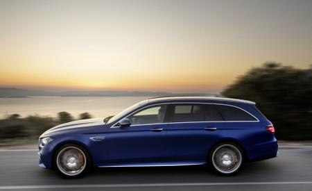 2021 Mercedes-AMG E 63 S Estate (Color: Brilliant Blue Magno) Side Wallpapers 450x275 (78)