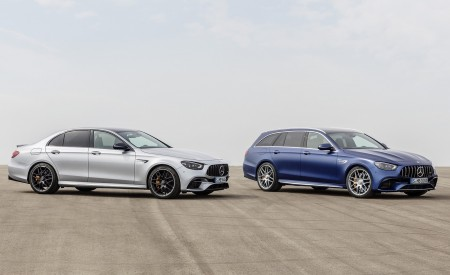 2021 Mercedes-AMG E 63 S Sedan and Estate Wallpapers 450x275 (85)
