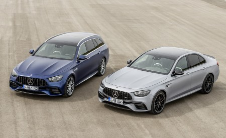 2021 Mercedes-AMG E 63 S Sedan and Estate Wallpapers 450x275 (84)