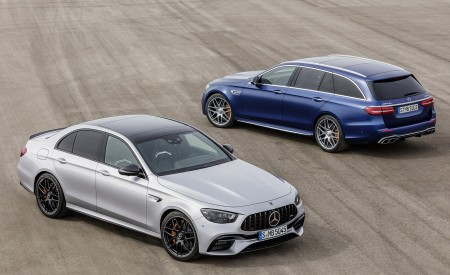 2021 Mercedes-AMG E 63 S Sedan and Estate Wallpapers 450x275 (83)