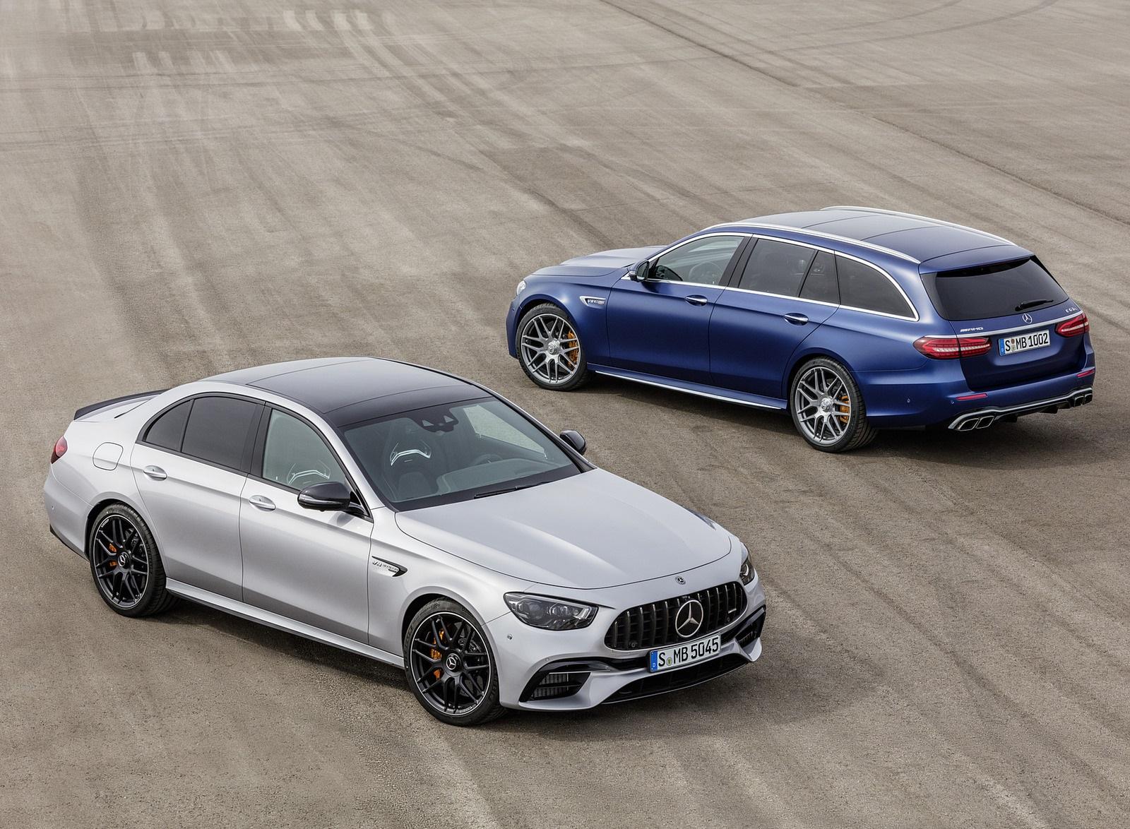 2021 Mercedes-AMG E 63 S Sedan and Estate Wallpapers (10)