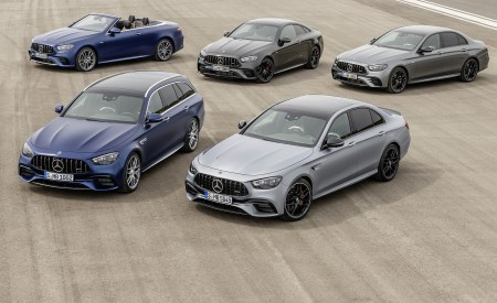 2021 Mercedes-AMG E 63 S Sedan and Estate Wallpapers 450x275 (81)