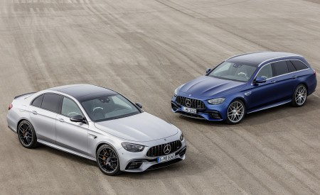 2021 Mercedes-AMG E 63 S Sedan and Estate Wallpapers 450x275 (82)