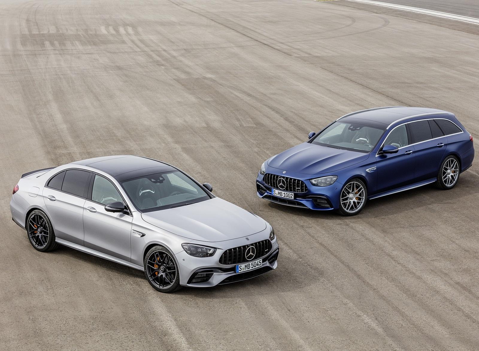 2021 Mercedes-AMG E 63 S Sedan and Estate Wallpapers (9)