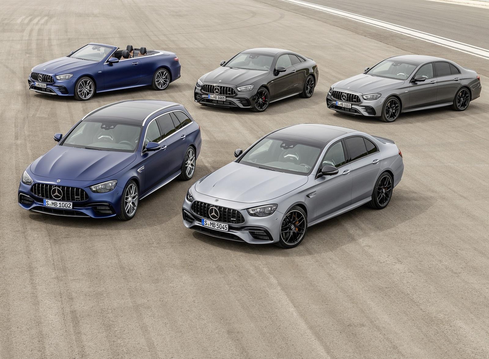 2021 Mercedes-AMG E 63 S Sedan and Estate Wallpapers (8)