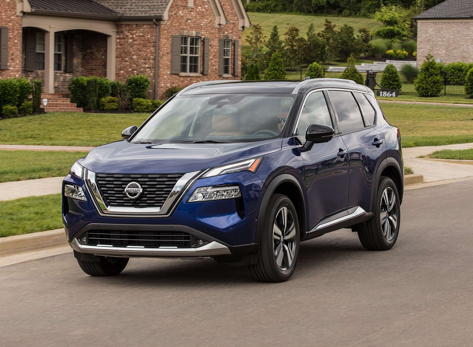 2021 Nissan Rogue Front Three-Quarter Wallpapers (7)