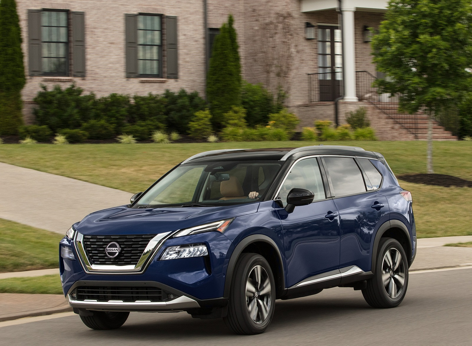 2021 Nissan Rogue Front Three-Quarter Wallpapers (8)
