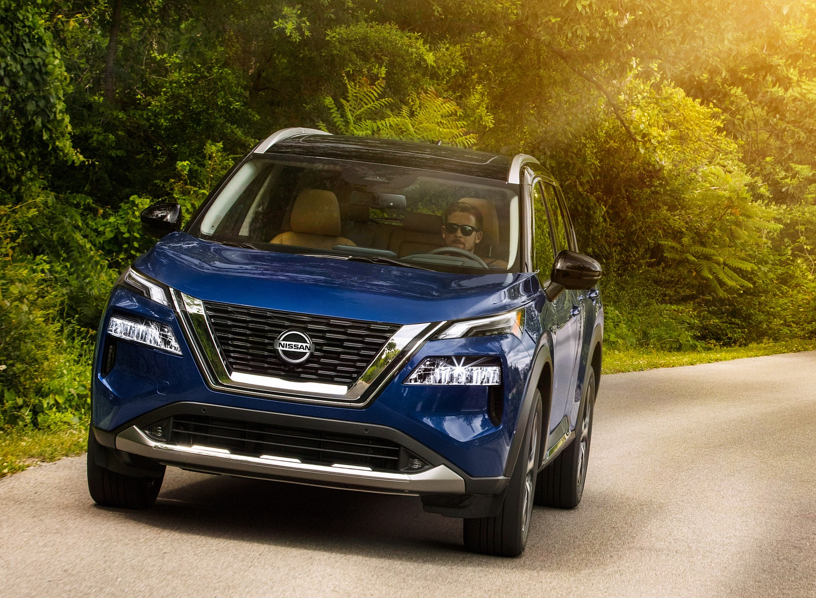 2021 Nissan Rogue Front Wallpapers (1)