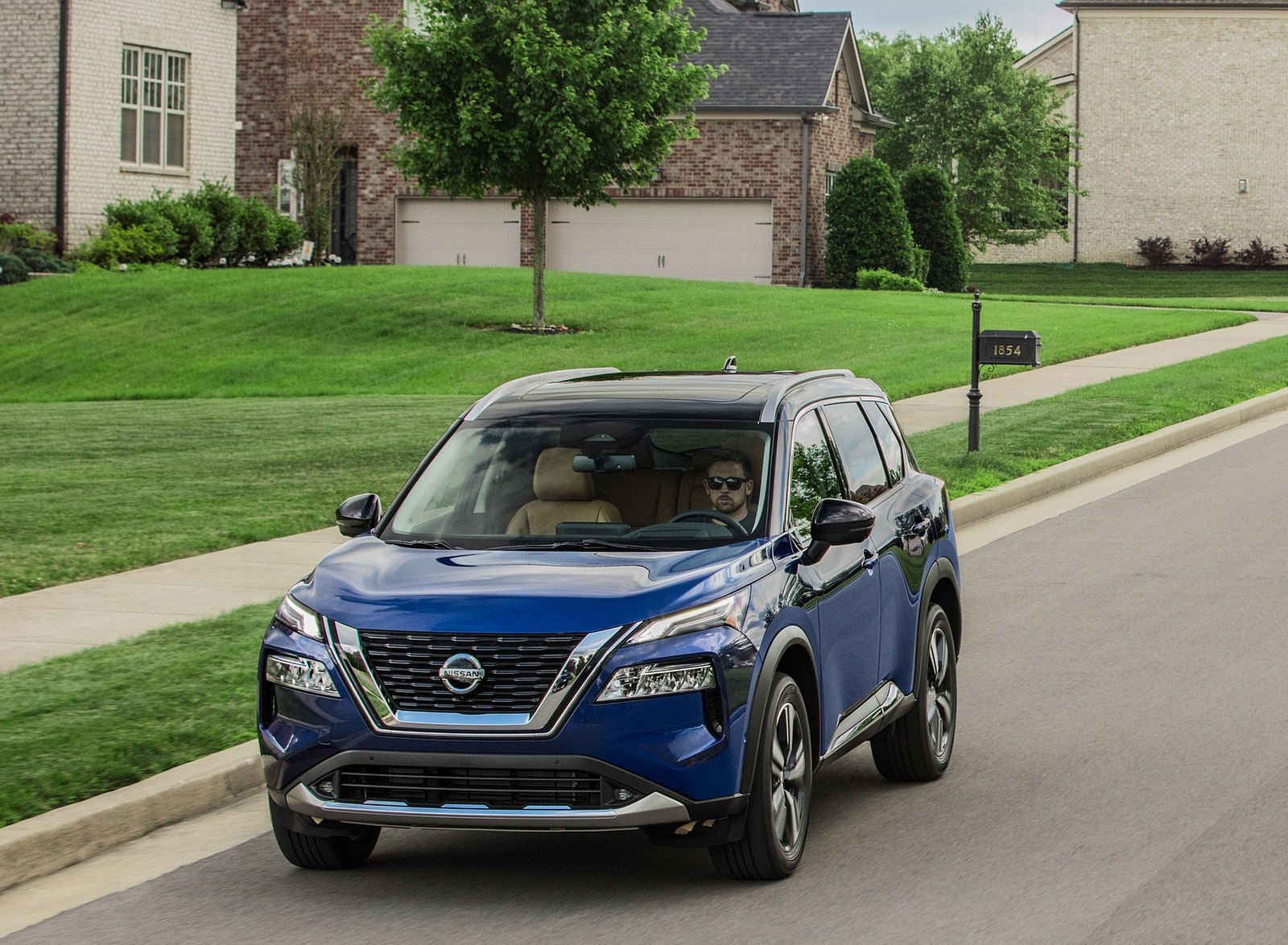 2021 Nissan Rogue Front Wallpapers (5)