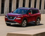2021 Nissan Rogue Platinum AWD Front Three-Quarter Wallpapers 150x120 (1)