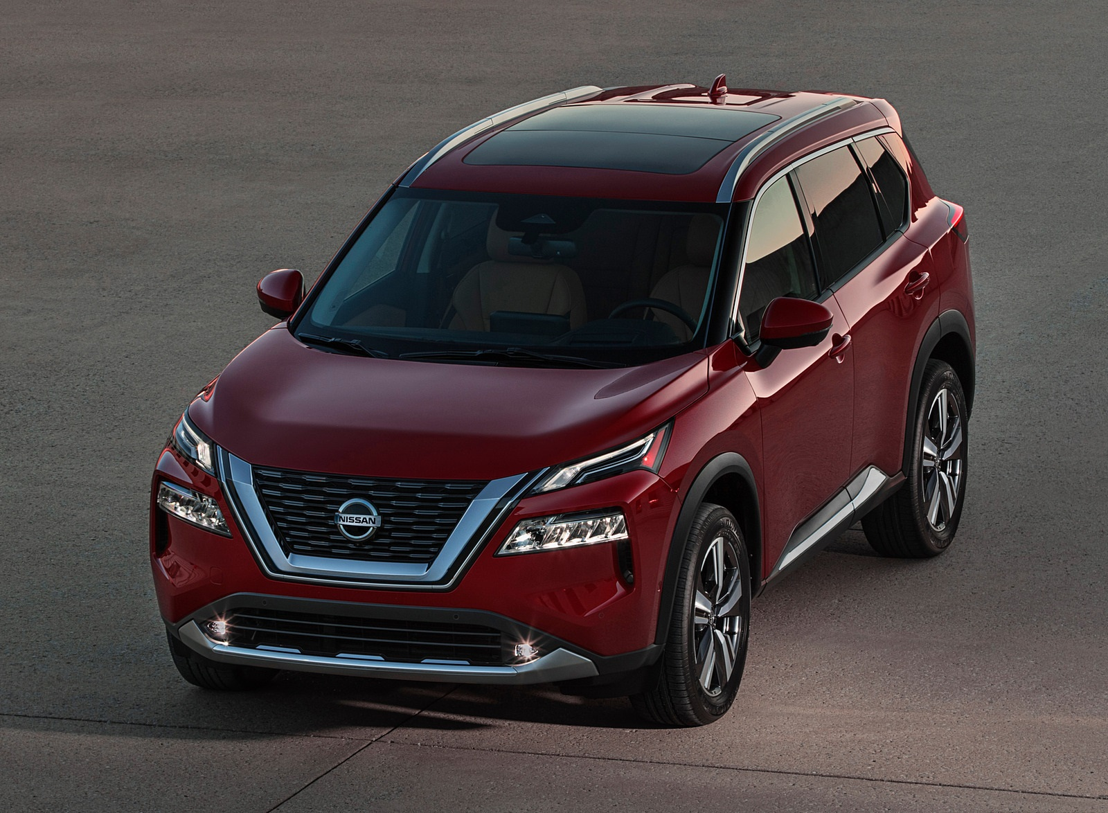 2021 Nissan Rogue Platinum AWD Front Wallpapers (7)